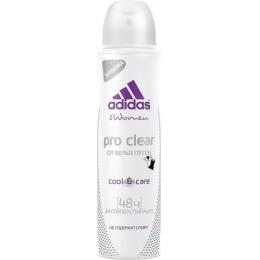 "Adidas дезодорант антиперспирант ""Cool & Care Pro Clear""  спрей для женщин"