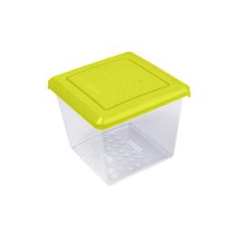 """Plast Team емкость для хранения продуктов """"Pattern"""" квадратная"""