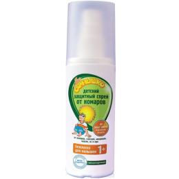 Мое солнышко спрей от комаров детский защитный, 100 мл