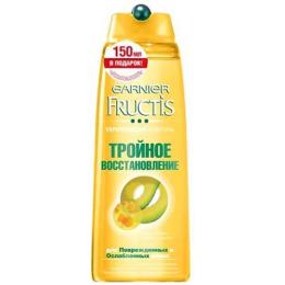 """Garnier шампунь """"Fructis. Тройное восстановление"""""""