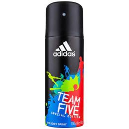 "Adidas дезодорант для мужчин ""Team Five"" спрей, 150 мл"