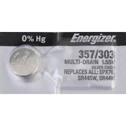 """Energizer батарейка часовая """"Silver Oxide"""" 357/303 MBL"""
