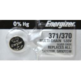 """Energizer батарейка часовая """"Silver Oxide"""" 371/370 MBL"""