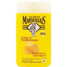 "Le Petit Marseillais гель-пена для душа ""Грейпфрут и апельсин"", 650 мл"