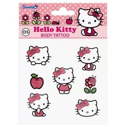 Hello Kitty Переводные тату для тела, тон 04