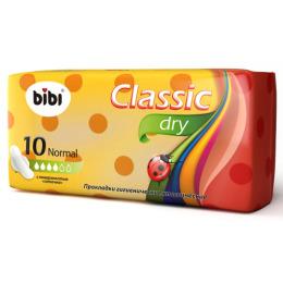 "Bibi прокладки ""Classic Normal Dry"" женские гигиенические"