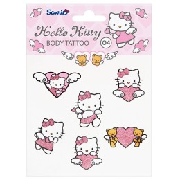 Hello Kitty Переводные тату для тела, тон 03