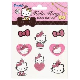 Hello Kitty Переводные тату для тела, тон 01