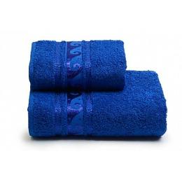 """ДМ Текстиль полотенце """"Elegance"""" махровое 70х130, синий"""