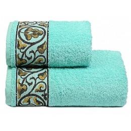 """ДМ Текстиль полотенце """"Michelle"""" махровое 70х130, бирюза"""