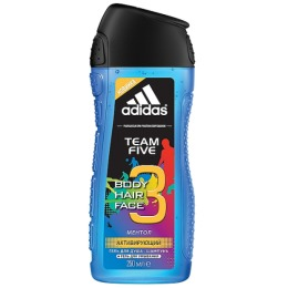 "Adidas гель для душа ""Team Five"", 250 мл"