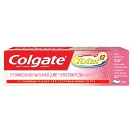 """Colgate зубная паста Total 12 Профессиональная чистка"""" для чувствительных зубов"""