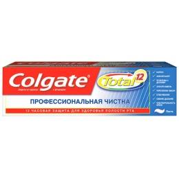 """Colgate зубная паста Total 12 Профессиональная чистка"""""""