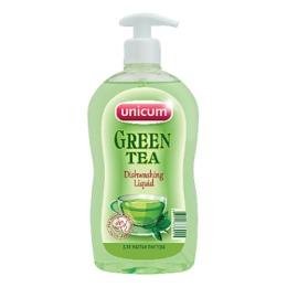 """Unicum средство для мытья посуды """"Зелёный чай"""""""