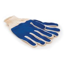 Акцент перчатки хлопчатобумажные, облитые латексом, универсальные