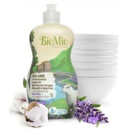 """BioMio средство для мытья посуды """"Bio-Care"""" с эфирным маслом лаванды, 450 мл"""