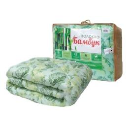 "Мягкий сон одеяло ""Бамбук""  172х205 Микрофибра легкое 150г/м2"