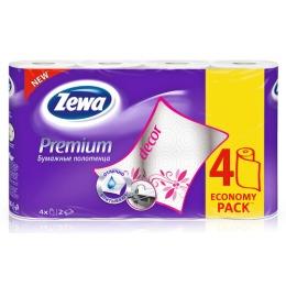 "Zewa полотенца бумажные ""Премиум. Декор"""