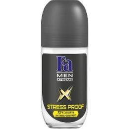 "Fa антиперспирант для мужчин ""Xtreme Activated Stress Proof"" ролик, 50 мл"