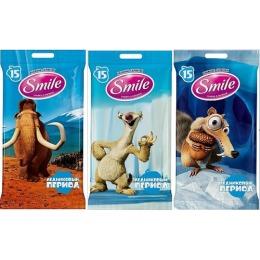 """Smile влажные салфетки """"Ice Age MIX"""" для всей семьи"""