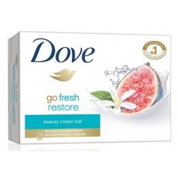 """Dove крем-мыло """"инжир и лепестки апельсина"""", 135 г"""