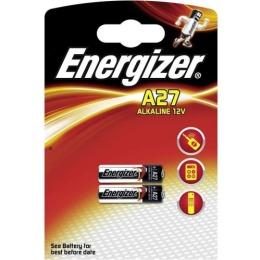 Energizer батарейка литиевая миниатюрная A27, 2 шт
