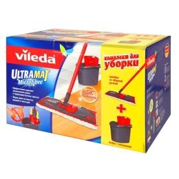 """Vileda комплект для уборки пола """"Ultramat"""" со складной ручкой"""