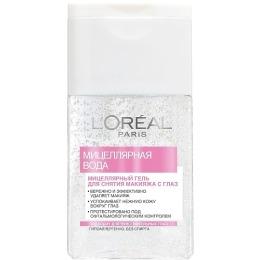 "L'Oreal Мицеллярный гель ""Dermo-expertise"" для чувствительных глаз, 125мл"