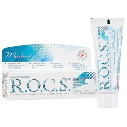 """R.O.C.S. гель для укрепления зубов """"Minerals"""", 45 г"""