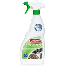 Unicum средство для чистки ковров и мягкой мебели, 500 мл