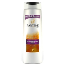 """Pantene шампунь """"Дополнительный объем"""" для нормальных и жирных волос, 250 мл"""