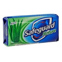 "SafeGuard мыло туалетное ""Алоэ"", 100 г"