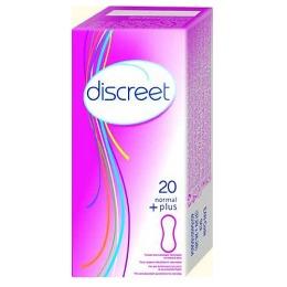 """Discreet прокладки """"Normal Plus Single"""" ежедневные женские гигиенические, 20 шт"""