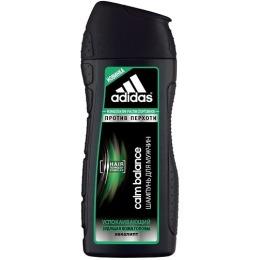 """Adidas шампунь """"Calm Balance"""" для мужчин, против перхоти, с эвкалиптом 200 мл"""