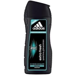 """Adidas шампунь """"Extra Fresh"""" для мужчин, освежающий с ментолом для склонных к жирности волос 200 мл"""