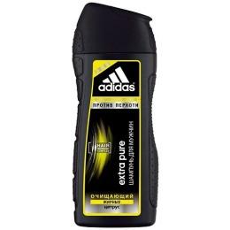 """Adidas шампунь """"Extra Pure"""" для мужчин, против перхоти с цитрусом для склонных к жирности волос 200 мл"""
