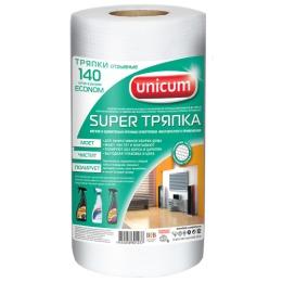 """Unicum тряпка для сухой и влажной уборки """"Econom Super"""" 25 x 23 см"""