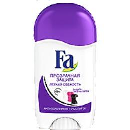"Fa дезодорант-антиперспирант для женщин ""Прозрачная защита"" стик, 50 мл"