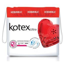 """Kotex Прокладки гигиенические """"Ultra Dry super"""""""