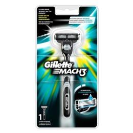 """Gillette бритва """"Mach 3"""" с 1 сменной кассетой"""