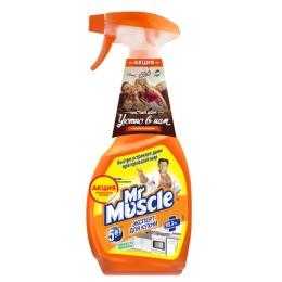 """Мистер Мускул чистящее и моющее средство для кухни """"Свежесть лимона"""", триггер"""