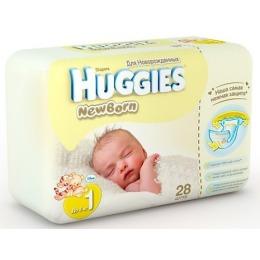 "Huggies подгузники ""Newborn"" размер 1, 2-5 кг"