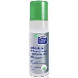 """Clean&Clear Очищающая пенка """"Clean&Clear Advantage"""" с экстрактом алоэ, 150 мл"""