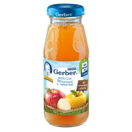 """Gerber сок """"Яблочный с мякотью"""", 175 мл"""