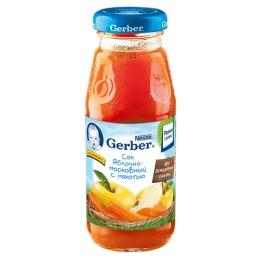 """Gerber сок """"Яблочно-морковный"""" с 5 месяцев"""