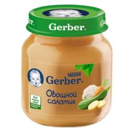 """Gerber пюре """"Овощной салат"""" с 5 месяцев"""