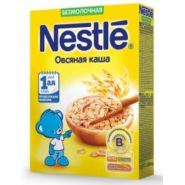 """Nestle каша безмолочная """"Овсяная"""" с бифидобактериями, 200 г"""