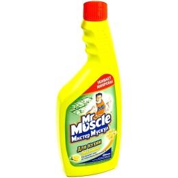 """Мистер Мускул чистящее и моющее средство для кухни """"Свежесть Лимона"""" сменная бутылка"""