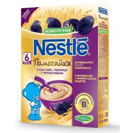 "Nestle каша безмолочная ""Помогайка. Овянно-пшенная. Чернослив"", 200 г"