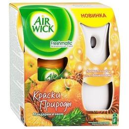 """Air Wick освежитель воздуха """"Freshmatic Complete"""" в комплекте со сменным баллоном Мандарин и Хвоя"""